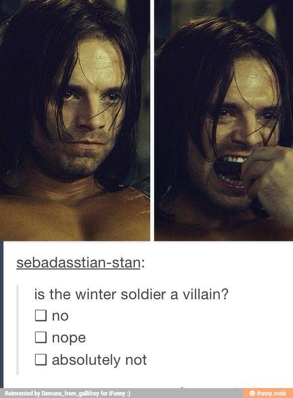 All of the above. IF YOU THINK HE IS A VILLAIN I WILL FIGHT YOU.