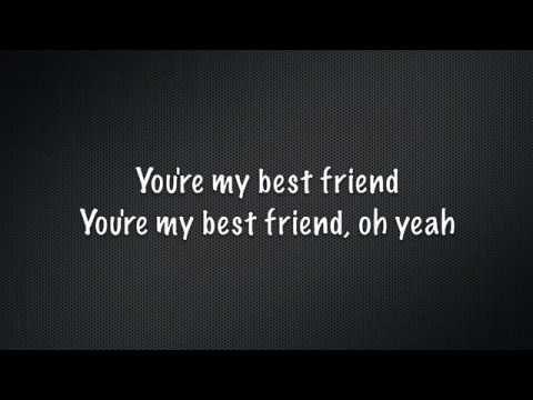 You are my best friend lyrics