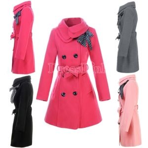Women Double-breasted Luxury Winter Wool Coat Jacket. I want this coat! Cheap cheap, too