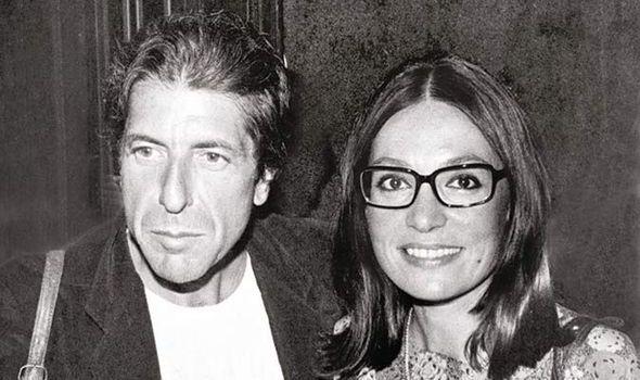 Greek singer, Nana Mouskouri & Leonard Cohen,