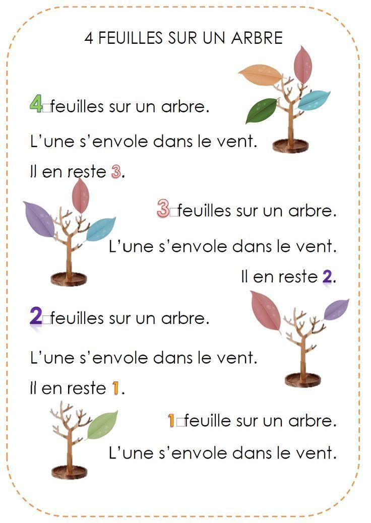 4 feuilles d'automne « Ecole maternelle publique Pierre Vi?not CHARLEVILLE MEZIERES