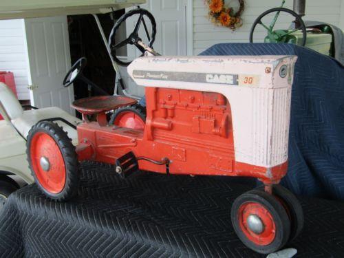 Case Pedal Tractors : Rare ertl case pleasure king pedal tractor