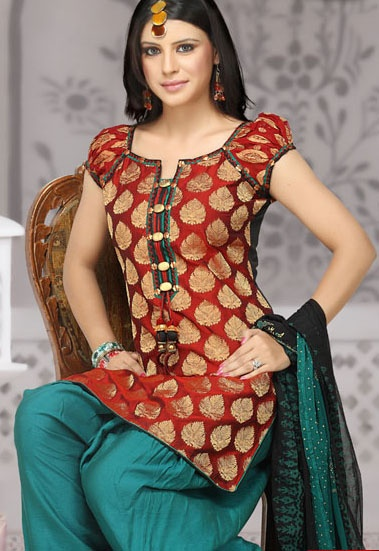 love th colors Salwar+stitching+designs