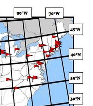 Best Latitude And Longitude Images On Pinterest Teaching - Longitude and latitude of the usa