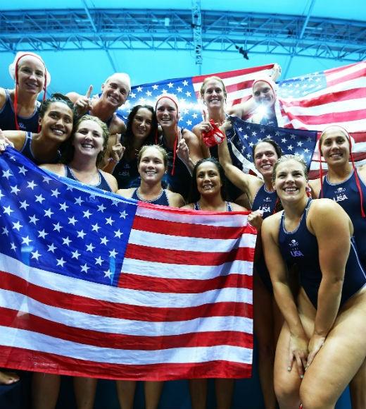 London 2012: Team USA's Gold Medalists: U.S. Women's Water Polo Team