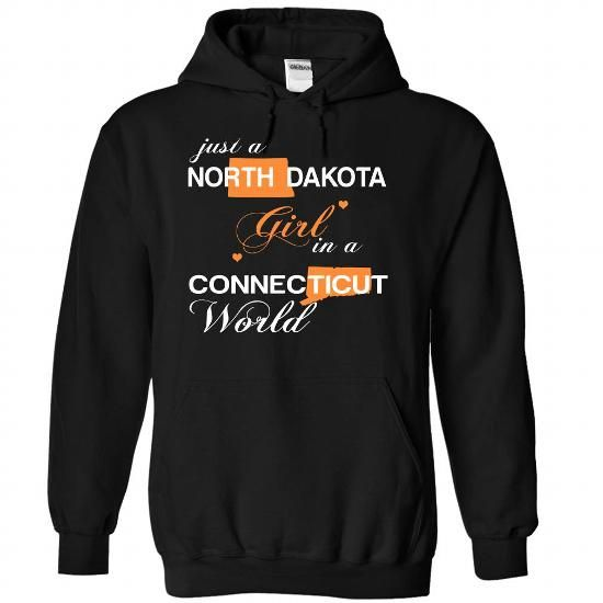 (NDJustCam002) Just A North Dakota Girl In A Connecticu - #shirt hair #sweater tejidos. OBTAIN LOWEST PRICE => https://www.sunfrog.com/Valentines/-28NDJustCam002-29-Just-A-North-Dakota-Girl-In-A-Connecticut-World-Black-Hoodie.html?68278