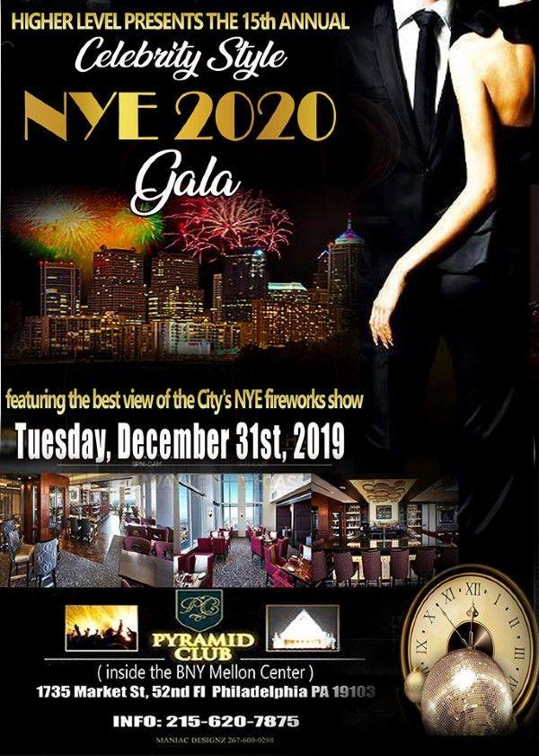 Philadelphia New Years Eve 2020 Philly's Best NYE