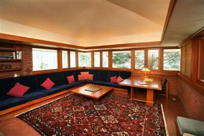 20 best flw boswell house images on pinterest for Frank lloyd wright interior designs