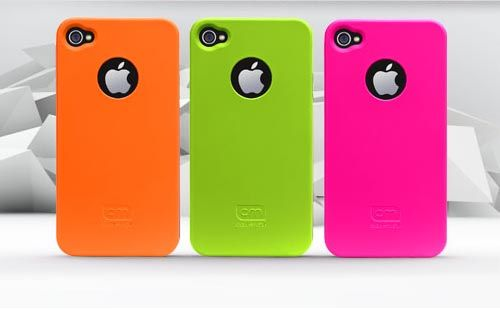 Neon iPhone cases! The lime green one is calling my name.