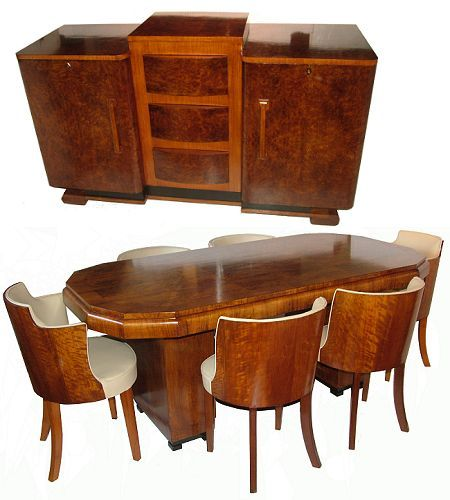 Art Deco Dining Suite