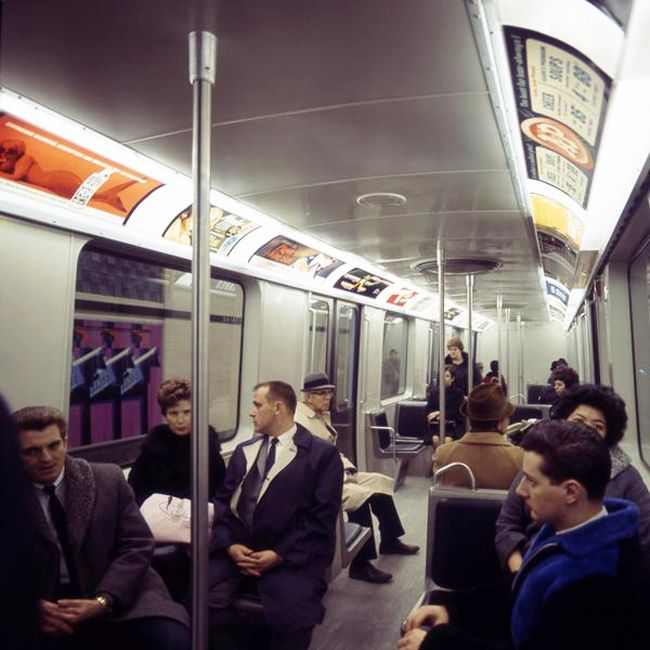 A Retro Look Inside The Very-First Montreal STM Metro Cars From The 1960s