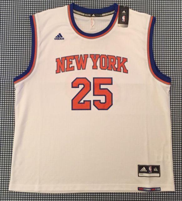 low priced 955df d304d NEW Derrick Rose New York Knicks Revolution 30 Replica ...