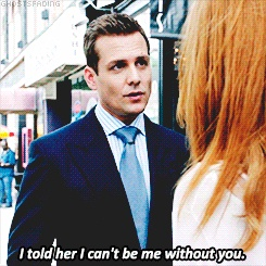 Suits ... Harvey loves Donna #forgetaboutscotty