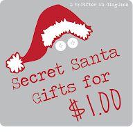Secret Santa Gifts for $1!