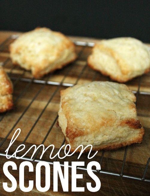 Recipe: Lemon Scones — Unusually Lovely