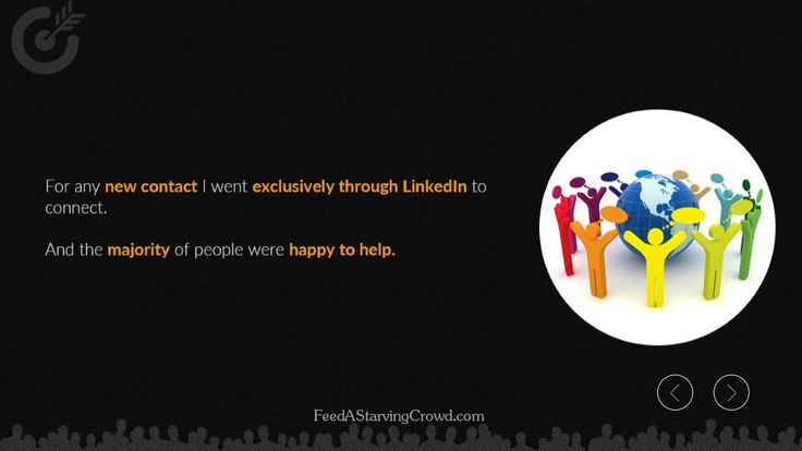 """http://FeedAStarvingCrowd.com - Find out how LInkedIn can be your secret weapon in your battle for success in the world of online marketing. Robert Coorey - master marketer and best-selling author of Feed A Starving Crowd tells you how.  This is an excerpt from the new book """"Feed A Starving Crowd"""". You can get 200+ other tips in finding a hungry market completely free by visiting http://FeedAStarvingCrowd.com"""
