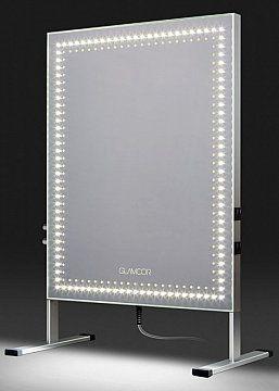 Sminkspegel med HD LED belysning från Glamcor - Makeupmirror with HD LED daylight