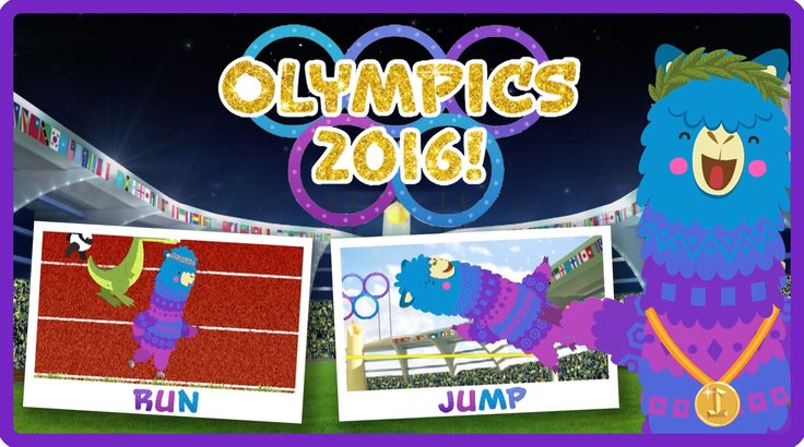 Pacca Alpaca's Rio 2016 Summer Olympic Sports Day | Learn Olympic Sports...