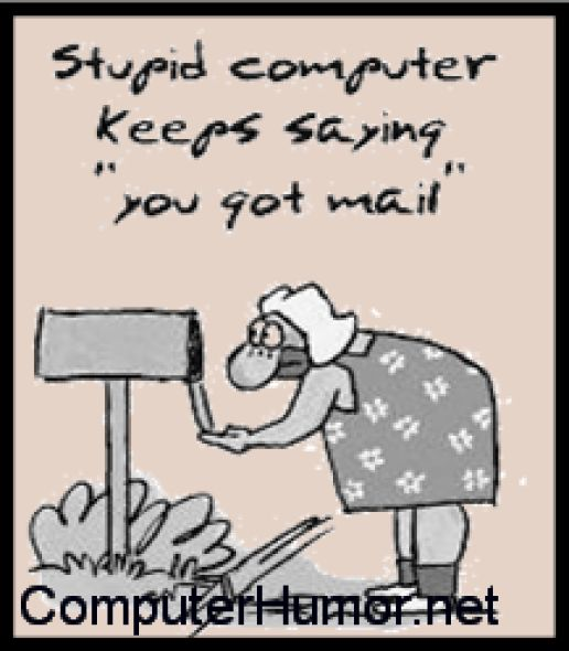 Old people doesnt always understand computers..