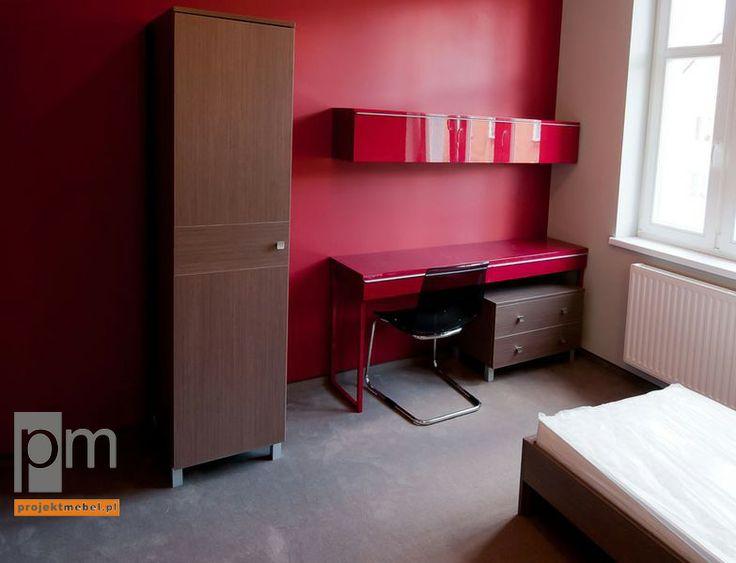 Pokój hotelowy projekt jndywidualny- http://www.projektmebel.pl/cik-boleslawiec#4
