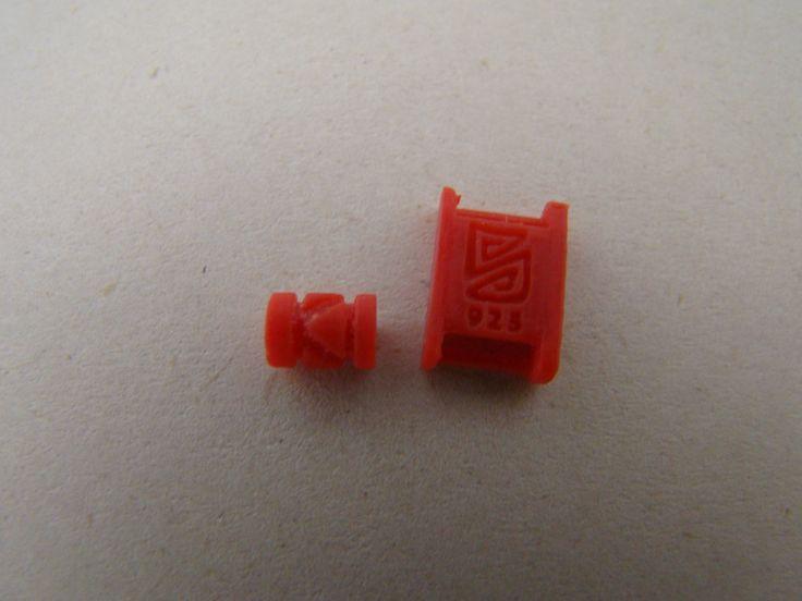 Terminales para pulseras en 3D