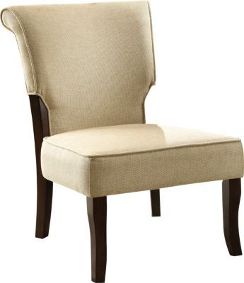 #MakeMoreMakeover Staples®. has the Monarch Linen Fabric / Cappuccino Wood Accent Chair, Beige you need for home office or business. Shop our great selection, read product reviews and receive FREE delivery on all orders over $45.
