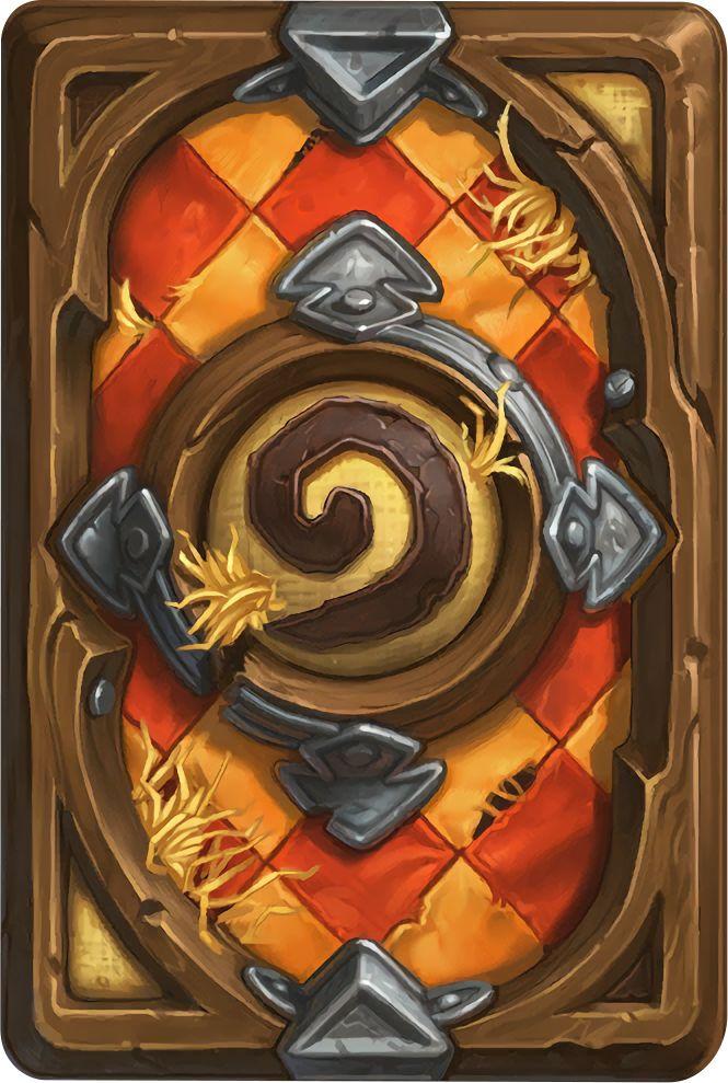 Card Back: Tournament Grounds Artist: Blizzard Entertainment