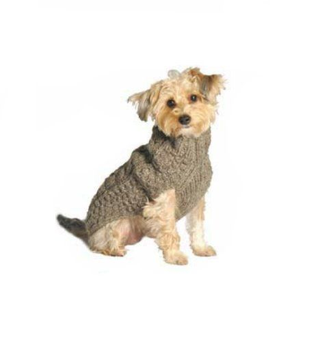 Chilly Dog Cable Dog Sweater, Small, Grey - http://www.thepuppy.org/chilly-dog-cable-dog-sweater-small-grey/