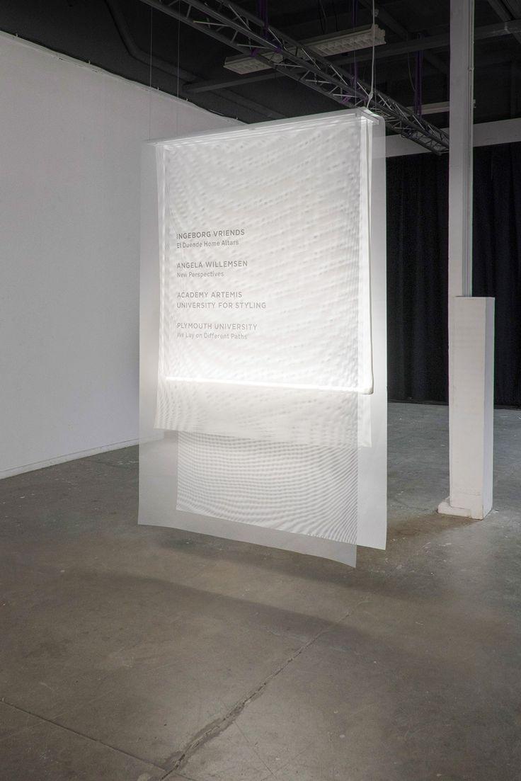 Trajectories exhibition Dutch Design Week 2015