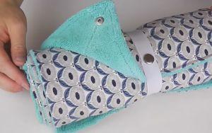 Tuto couture : le sopalin et les lingettes lavables 0 déchet !