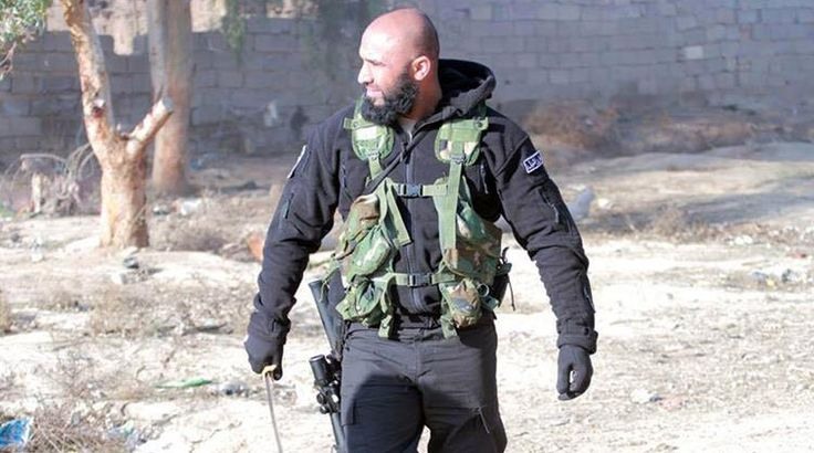 """Abu Azrael also known as the """"Angel of Death"""", is a commanderof the Kataib al-Imam Ali, an Iraqi Shi'a militia group of the Popular Mobilization Forces that is fighting ISIL (Islamic State of Iraq..."""