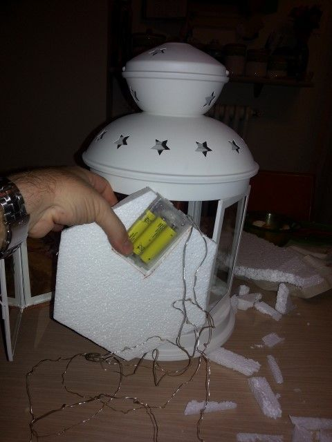 Christmas nativity in a Rotera lantern   IKEA Hackers Clever ideas and hacks for your IKEA