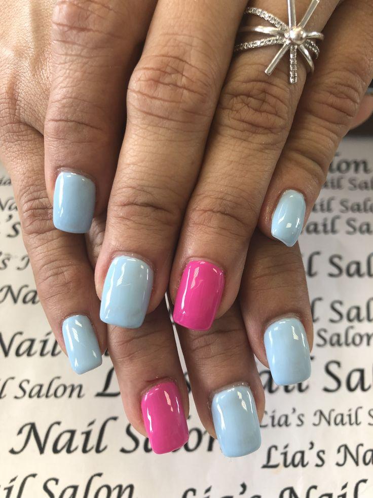 Pin by Lia's Nail Salon on Nail design Colorful nail