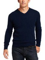 Williams Cashmere Men's 100% Cashmere V-Neck Sweater Price:	$103.00 FREE Shipping. You Save:	$103.00 (50%) Features 100% cashmere Dry clean only Two-ply cashmere Ribbed hem and cuffs V-neck Pull over Williams's V-neck sweater proves classically cool thanks to luxe cashmere and a tailored silhouette. Made in China