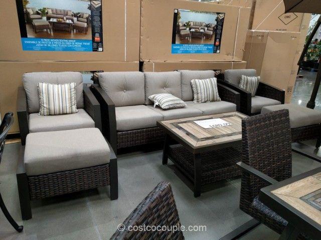 Agio International Wicker Luxury Patio Furniture Clearance