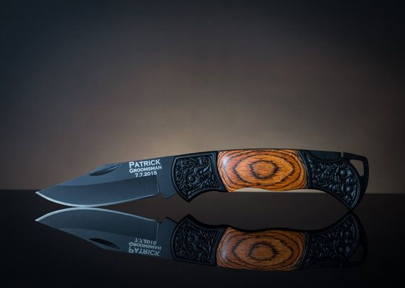 Monogram Pocket Knife Personalized Pocket Knife by MWgiftshop