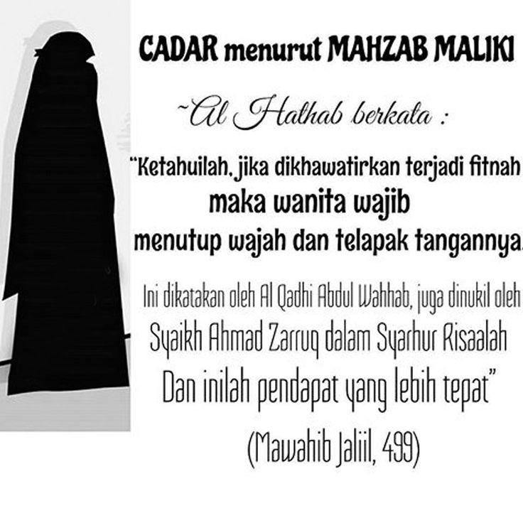 Follow @NasihatSahabatCom http://nasihatsahabat.com #nasihatsahabat #mutiarasunnah #motivasiIslami #petuahulama #hadist #hadits #nasihatulama #fatwaulama #akhlak #akhlaq #sunnah #aqidah #akidah #salafiyah #Muslimah #adabIslami #DakwahSalaf #ManhajSalaf #Alhaq #Kajiansalaf #dakwahsunnah #Islam #ahlussunnah #tauhid #dakwahtauhid #Alquran #kajiansunnah #salafy #cadar #niqab #niqob #burkah #hijabsyari #terorisme #hukumcadar #imam4 #imamempat #4mahdzab #empatmahdzab #bukanteroris #Maliki #hambali