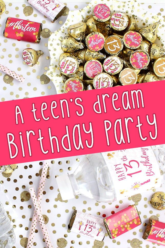 Pin On 13th Birthday Party