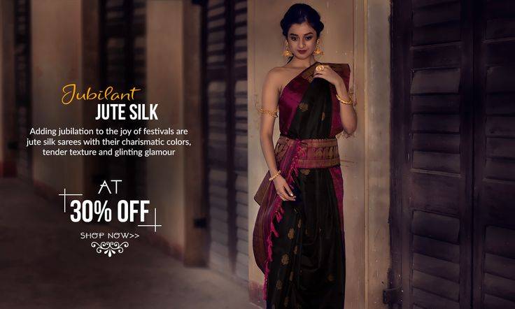 Show stopper of the season: Festive jute silk sarees have arrived!