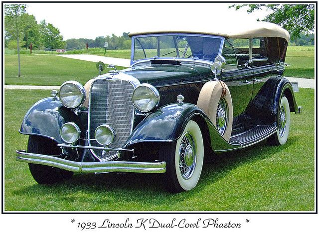 1933 Lincoln K :: http://www.flickr.com/groups/visipix/pool/24150334@N08