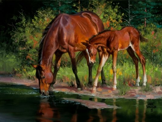 1000+ Images About Western Art Horses Cattle On Pinterest