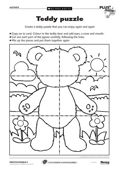 Free Teddy Bears downloadables from Scholastics. Thanks Scholastics