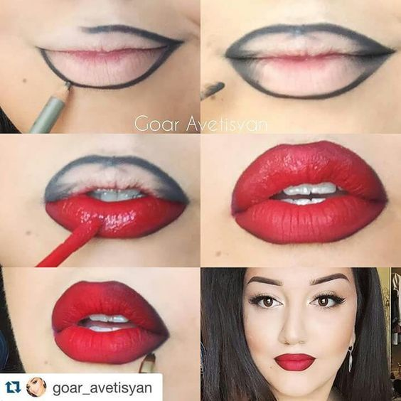 Mary Kay® Creme Lipstick        Really Red/Red