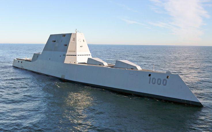 Stealth Submarine USS Zumwalt