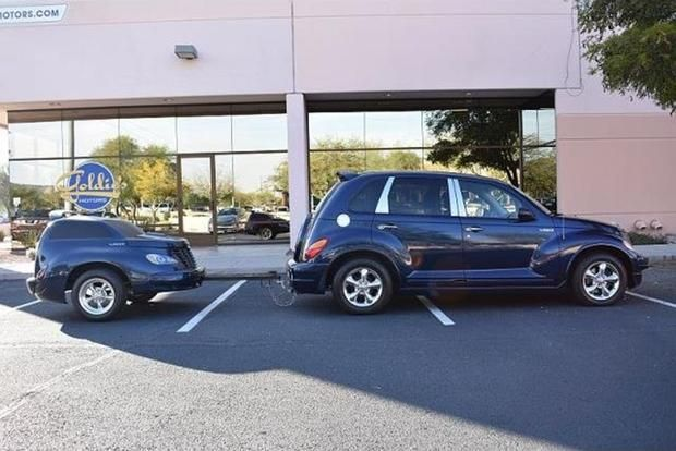 Autotrader Find: Chrysler PT Cruiser With 5,000 Miles and Matching Trailer featured image large thumb0