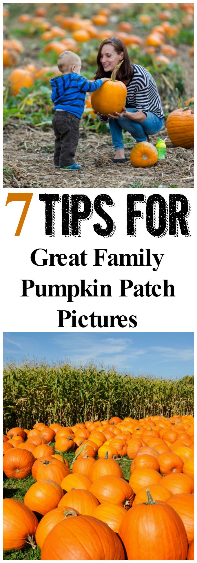 Channel your inner photographer this fall. Check out these 7 tips over on the blog to help you snap up some amazing family pumpkin patch pictures!
