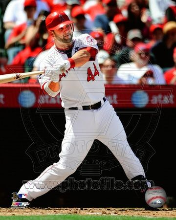 Los Angeles Angels - Mike Napoli Photo