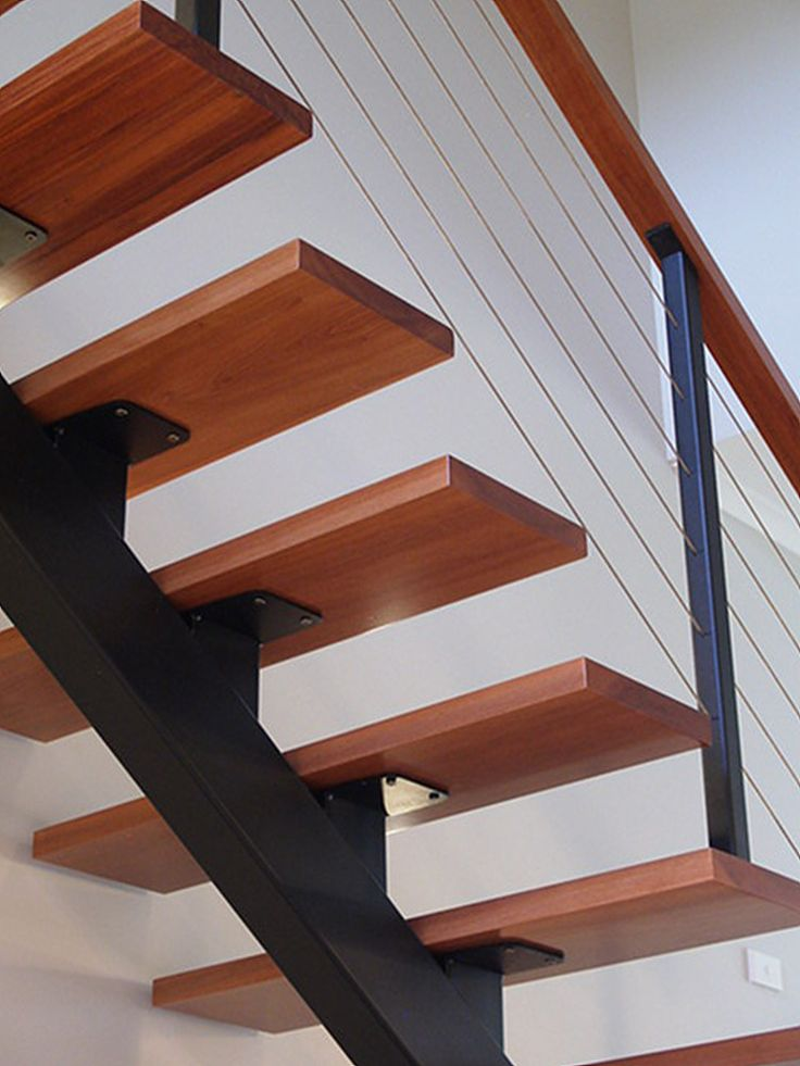 Best Steel Single Stringer Staircase Stairs To The Moon 640 x 480