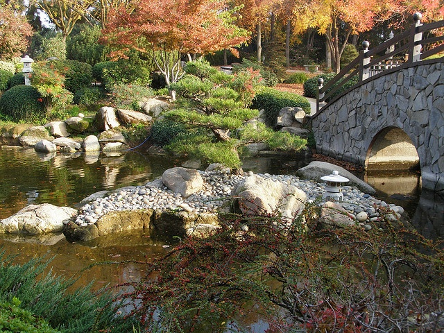Shinzen Japanese Gardens At Woodward Park In Fresno Ca