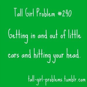 Tall people getting out of small cars without incident should be an Olympic sport.